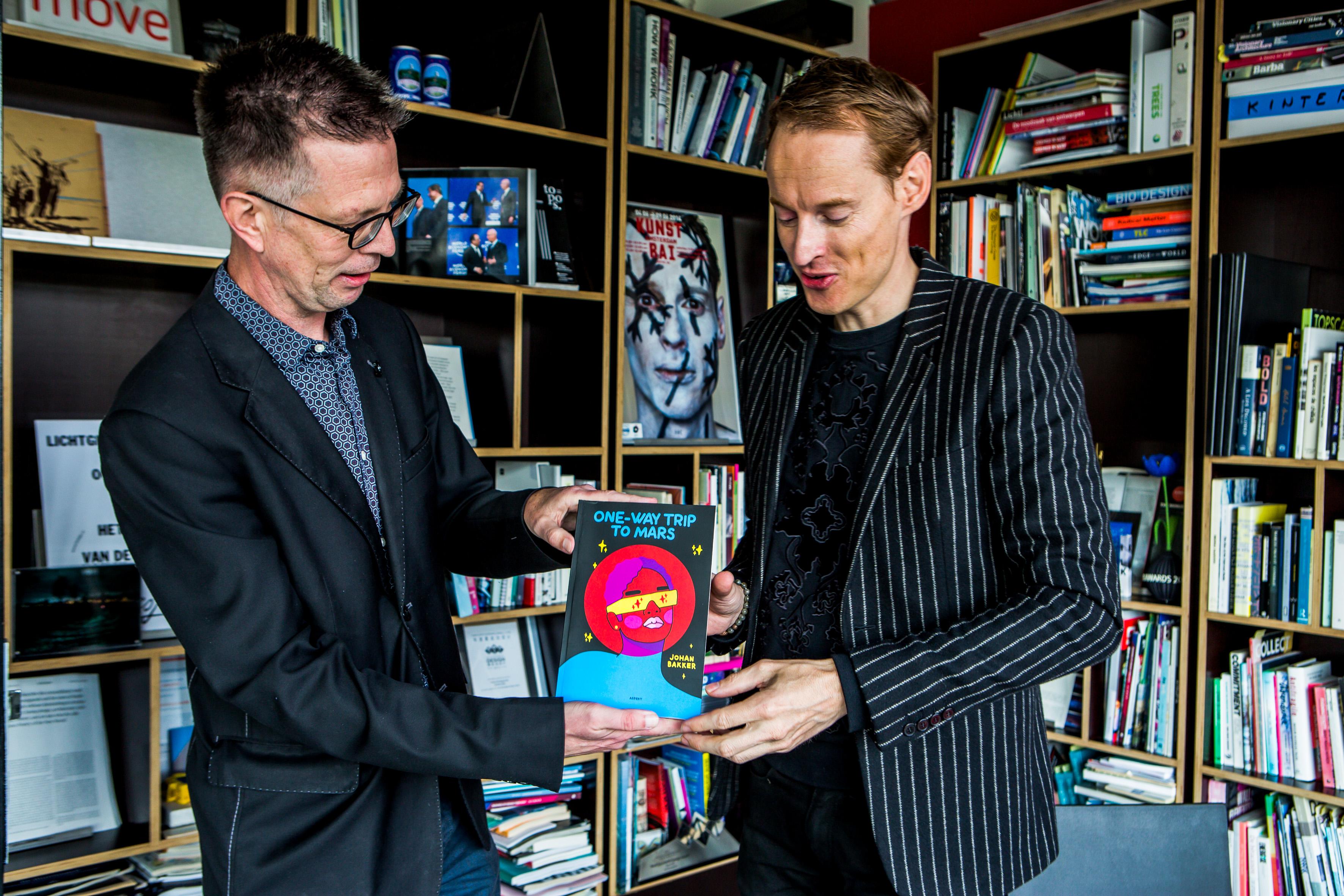 Johan Bakker en Daan Roosegaarde