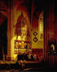 Albrecht Dürer voor het Lam Gods