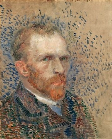 Self Portrait Vincent van Gogh 1887