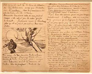 Brief 1888 over De Zaaier