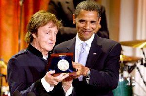 Paul McCartney in het Witte Huis