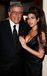 With Tony Bennett